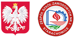 Zespół Szkół Zawodowych nr 3  w Starachowicach Logo